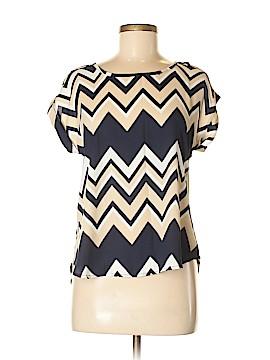 A'gaci Short Sleeve Blouse Size M