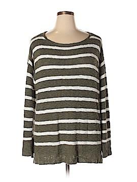 Caslon Pullover Sweater Size 2X (Plus)