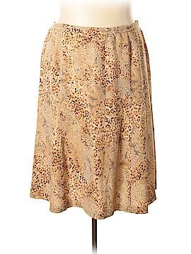 Talbots Silk Skirt Size 20 (Plus)