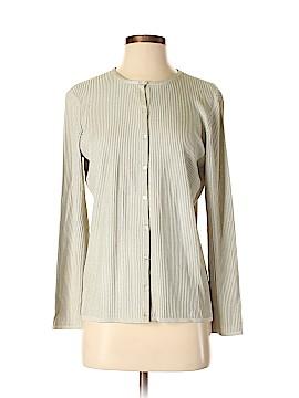 The Works Saks Fifth Avenue Silk Cardigan Size M