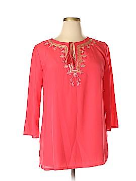 Avon 3/4 Sleeve Blouse Size L