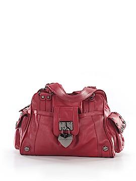 Betsey Johnson Leather Satchel One Size