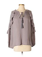 Knox Rose Women Long Sleeve Blouse Size XS