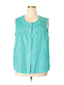 Covington Sleeveless Blouse Size 20 - 22 (Plus)