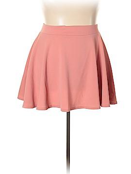 Doublju Casual Skirt Size 3X (Plus)