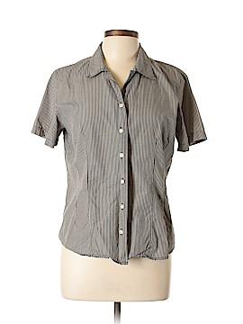 Geoffrey Beene Sport Short Sleeve Button-Down Shirt Size 12