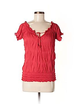 Love Nation Short Sleeve Blouse Size M