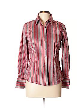 Metrostyle Long Sleeve Button-Down Shirt Size 12