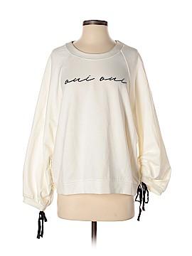 Color Thread Sweatshirt Size M