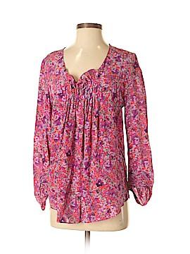 Rebecca Minkoff 3/4 Sleeve Silk Top Size S
