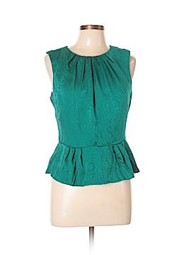 Trina Turk Sleeveless Silk Top Size 10