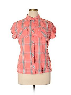 Woolrich Short Sleeve Button-Down Shirt Size XL