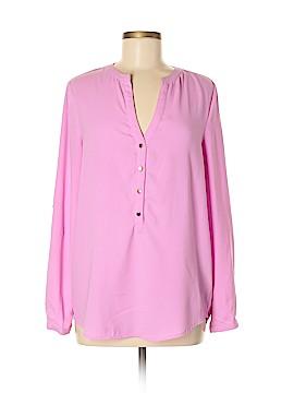 Pim + Larkin Long Sleeve Blouse Size M