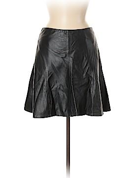 Nanette Lepore Leather Skirt Size 6