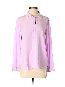 Uniqlo Long Sleeve Blouse Size L