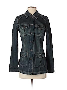 Contrast Denim Jacket Size S