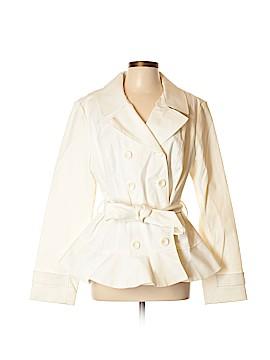 New York & Company Trenchcoat Size XL