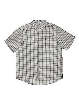Quiksilver Short Sleeve Button-Down Shirt Size 16 - 18
