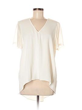 Topshop Short Sleeve Button-Down Shirt Size 6