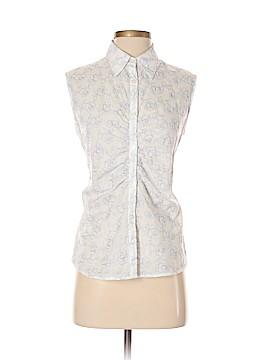 Talbots Sleeveless Button-Down Shirt Size S