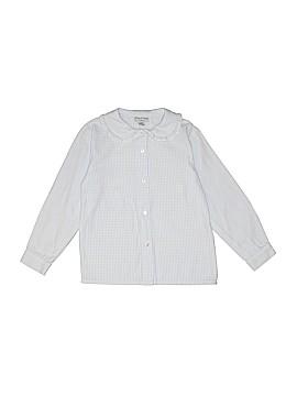 Papo d'Anjo Long Sleeve Button-Down Shirt Size 6
