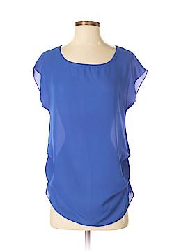 Love Crazy Short Sleeve Blouse Size S