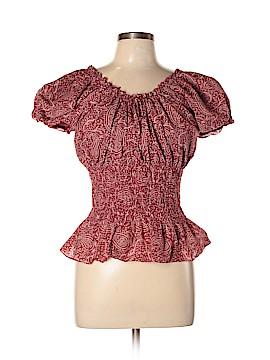 Lauren Jeans Co. Short Sleeve Blouse Size L