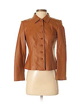 Talbots Leather Jacket Size 2 (Petite)