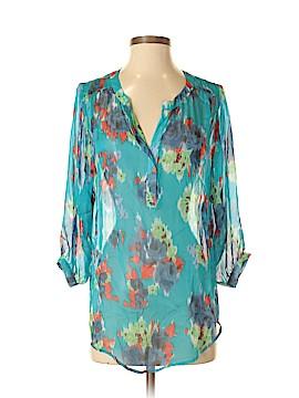 Fifteen Twenty 3/4 Sleeve Silk Top Size S
