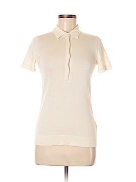 Malo Short Sleeve Silk Top Size 40 (EU)