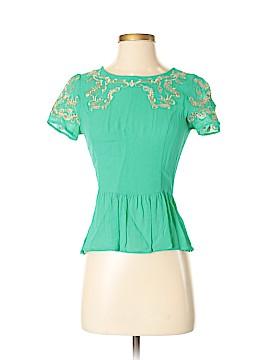 Joyce Short Sleeve Blouse Size S