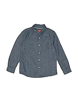 Joe Fresh Long Sleeve Button-Down Shirt Size 7 - 16