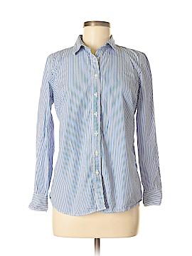 J. Crew Factory Store Long Sleeve Button-Down Shirt Size M (Petite)