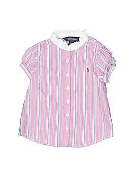 Ralph Lauren Short Sleeve Button-Down Shirt Size 18 mo
