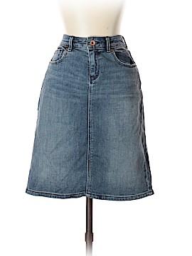 Lands' End Denim Skirt Size 2 (Petite)
