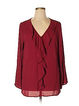 Tacera Long Sleeve Blouse Size XL