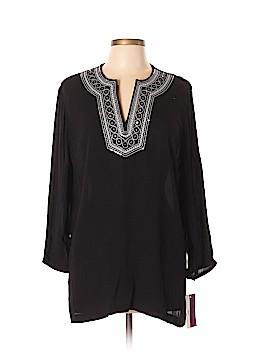 Cathy Daniels Long Sleeve Blouse Size L