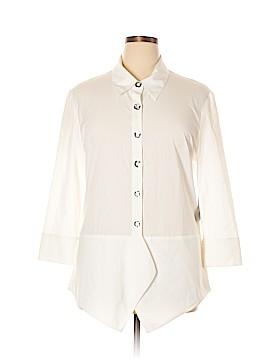 Samuel Dong Long Sleeve Blouse Size XL