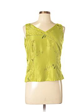 Dana Buchman Sleeveless Silk Top Size 10 (Petite)