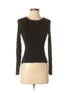 Carlisle Long Sleeve Silk Top Size S