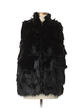 BCBGeneration Faux Fur Vest Size L