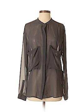 Patterson J. Kincaid Blue Label Long Sleeve Blouse Size XS