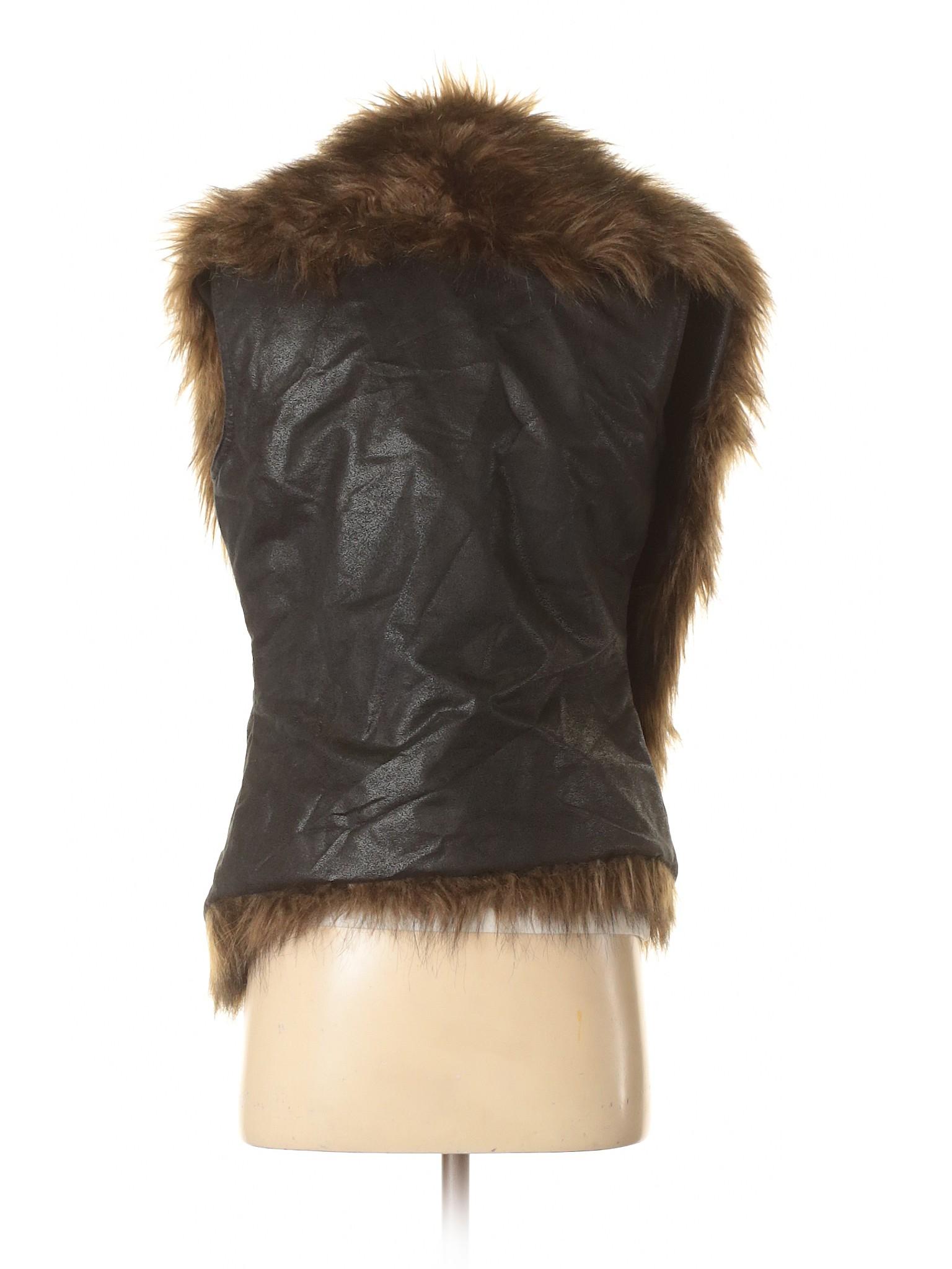 Vera winter Wang Fur Boutique Vest Simply Faux Vera x1twWpBn