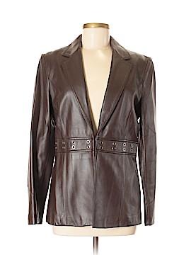 Caslon Leather Jacket Size M