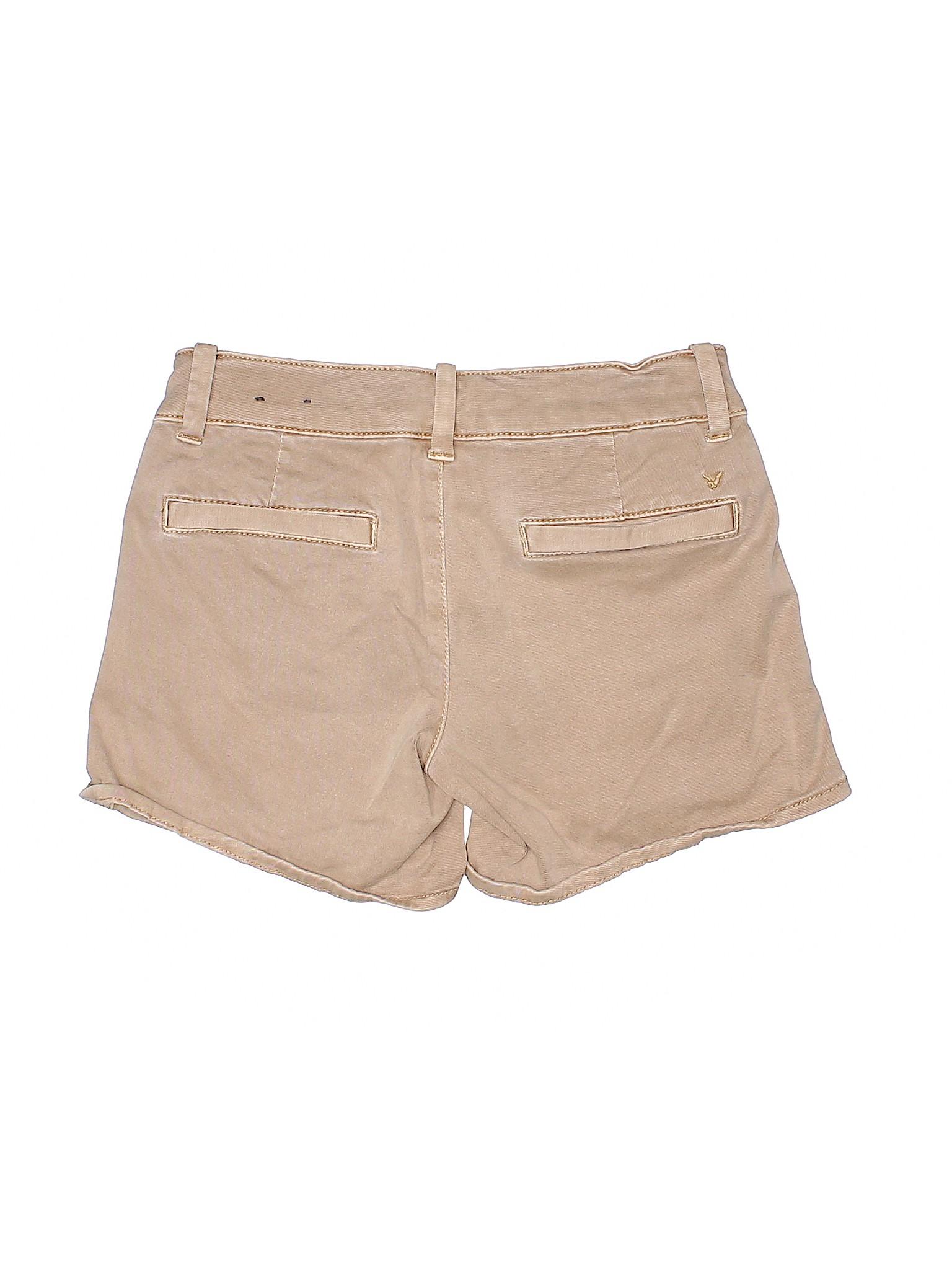 Eagle Boutique Shorts Khaki Outfitters American U656q0