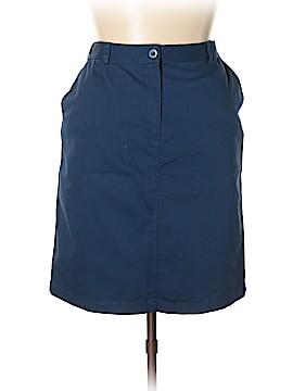 L.L.Bean Casual Skirt Size 14 (Petite)