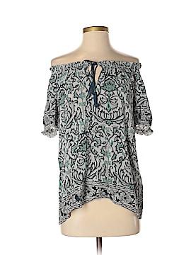 Jolie Short Sleeve Silk Top Size S