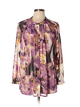 Liz Claiborne Long Sleeve Blouse Size XL