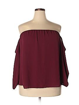 Sky Plus Long Sleeve Blouse Size 3X (Plus)