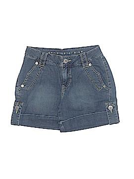 Christopher Blue Denim Shorts Size 4